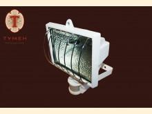 PG 500 W Прожектор, білий з датчиком руху KL